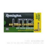 500 Rounds of .44 Mag Ammo by Remington HTP - 240gr SP