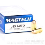 1000 Rounds of .45 ACP Ammo by Magtech - 230gr FMC