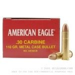 50 Rounds of .30 Carbine Ammo by Federal - 110gr FMJ