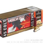 """70 Rounds of .45 Long-Colt/410 Gauge Ammo by Federal American Eagle Combo - 225gr JSP/2 1/2"""" 000 Buck"""