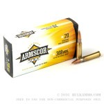 20 Rounds of .308 Win Ammo by Armscor - 147gr FMJ