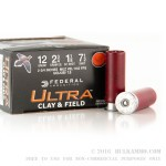 250 Rounds of 12ga Ammo by Federal - 1 1/8 ounce #7 1/2 shot