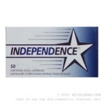 1000 Rounds of 9mm Ammo by Independence - 124gr FMJ
