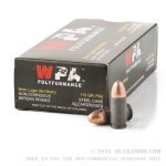 500  Rounds of 9mm Ammo by Wolf WPA Polyformance - 115gr FMJ