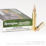 20 Rounds of .300 Win Mag Ammo by Remington - 180gr Bonded PSP