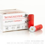 250 Rounds of 12ga Ammo by Winchester - 1 ounce #8 shot