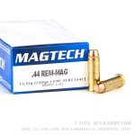 50 Rounds of .44 Mag Ammo by Magtech - 240gr FMC