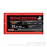 50 Rounds of .22 WMR Ammo by Winchester Varmint - 30gr V-Max