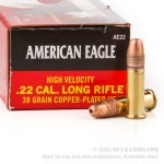40 Rounds of .22 LR Ammo by Federal - 38gr CPHP