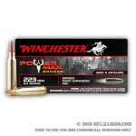 20 Rounds of .223 Ammo by Winchester Power Max Bonded - 64gr HP