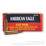 900 Rounds of .223 Ammo by Federal - 55gr FMJBT