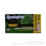 500  Rounds of .38 Spl Ammo by Remington - 158gr Lead Wadcutter