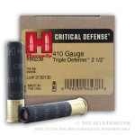 20 Rounds of .410 Ammo by Hornady -  FTX Slug