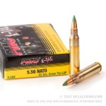 20 Rounds of 5.56x45 Ammo by PMC - 62gr FMJ XM855