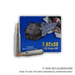 20 Rounds of 7.62x39mm Ammo by Silver Bear - 123gr HP