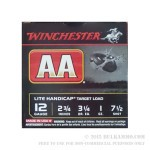 25 Rounds of 12ga Ammo by Winchester AA Lite Handicap - 1 ounce #7 1/2 shot