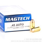 50 Rounds of .45 ACP Ammo by Magtech - 230gr FMC