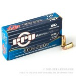 50 Rounds of .380 ACP Ammo by Prvi Partizan - 94gr FMJ