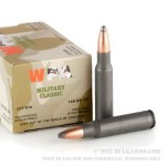 20 Rounds of .308 Win Ammo by Wolf WPA - 140gr SP