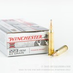 20 Rounds of .223 Ammo by Winchester Super-X - 64gr PP
