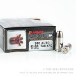 20 Rounds of .380 ACP Ammo by Barnes - 80gr TAC-XP HP