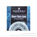 """25 Rounds of 20ga Ammo by Federal Game-Shok - 2 3/4"""" 1 ounce #8 shot"""