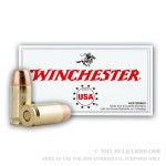 500 Rounds of .380 ACP Ammo by Winchester - 95gr FMJ