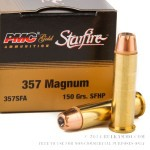 20 Rounds of .357 Mag Ammo by PMC Starfire - 150gr JHP